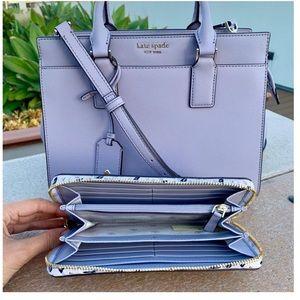 Kate spade margeaux satchel & continental wallet